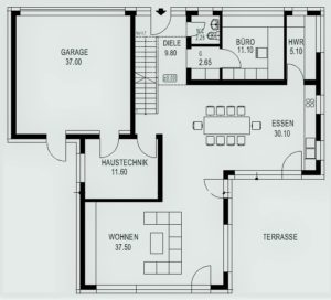 manufact l 12 life style villa 261 vivere buon kfw 55 kologisch optimiert manufact. Black Bedroom Furniture Sets. Home Design Ideas