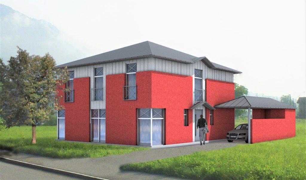 manufact architekturkonzept stadtvilla massivhaus. Black Bedroom Furniture Sets. Home Design Ideas